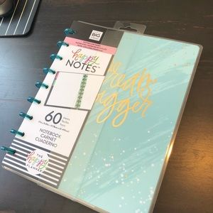 The happy planner notebook DREAM BIGGER